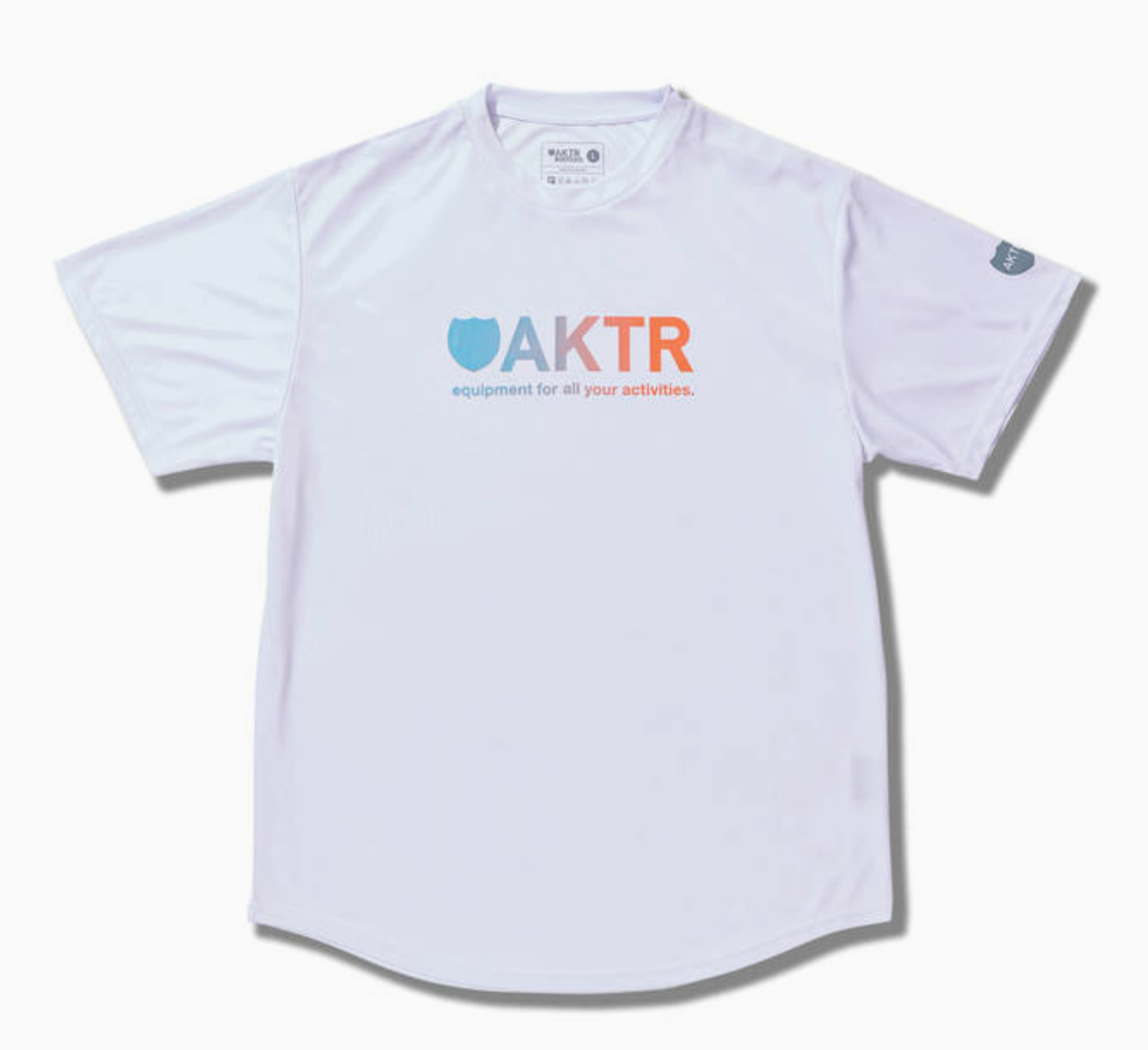 AKTR BOOTLEG GRADATION LOGO SPORTS TEEのイメージ