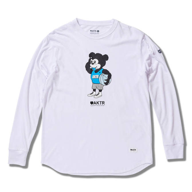 AKTR NICK BE SHY L/S TEEのイメージ