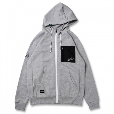 Arch pocket sweat parka[DRY SWEAT]【gray】のイメージ