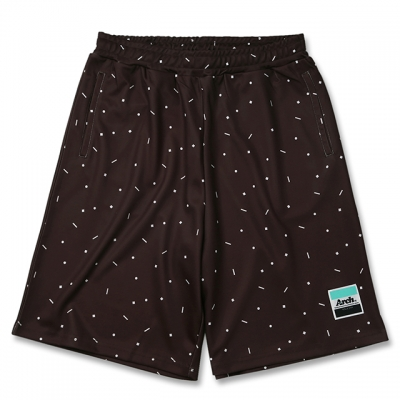 Arch topping designed shorts【brown】のイメージ