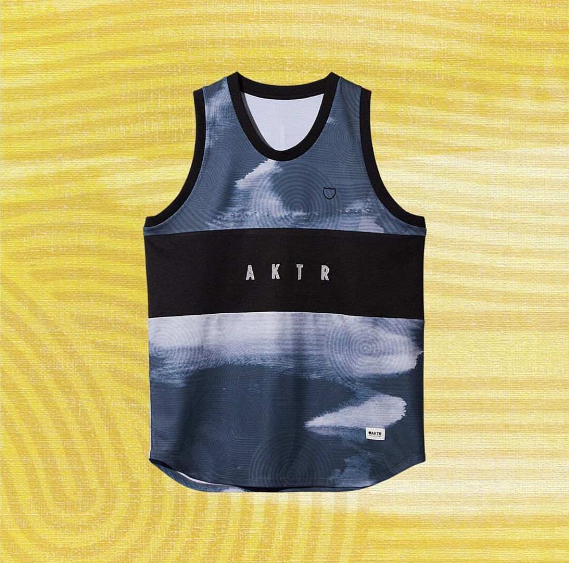 AKTR RIPPLE FLOW TANK BLACKのイメージ