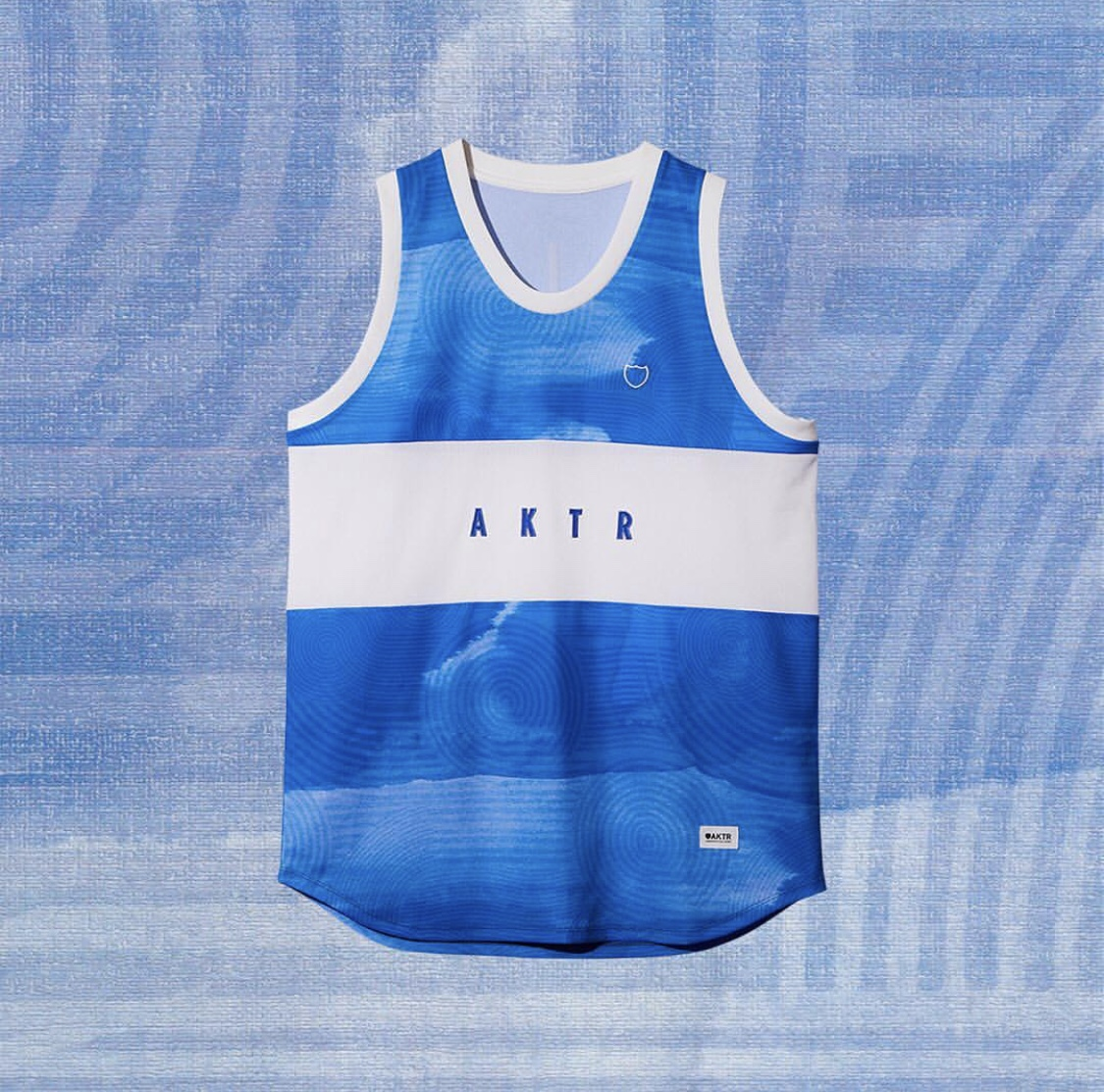 AKTR RIPPLE FLOW TANK BLUEのイメージ