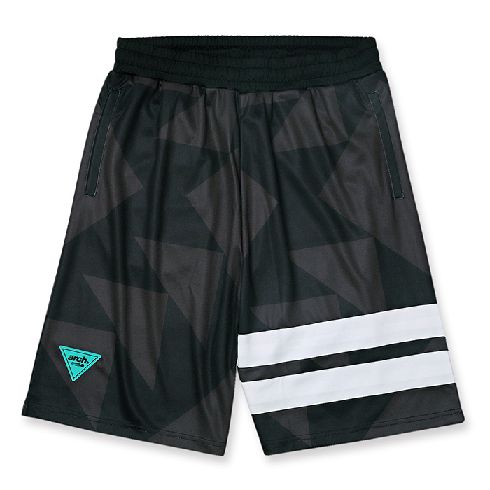 Arch sporty logo shorts【black】のイメージ