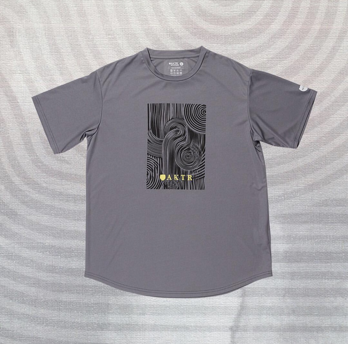 AKTR RIPPLE BOX SPORTS TEE GRAYのイメージ