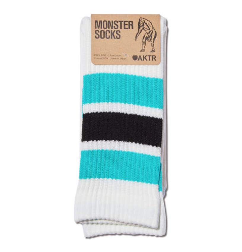 AKTR MONSTER SOCKS B-GREENxBLACKのイメージ